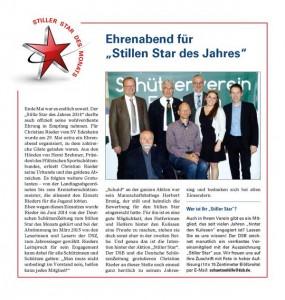 Bericht DSZ Ausgabe 7/2015