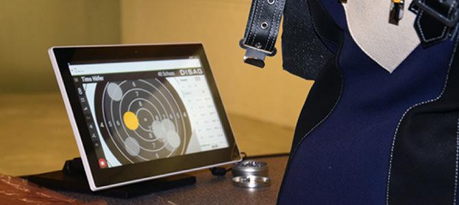 Neuer elektronischer Luftdruckwaffenstand